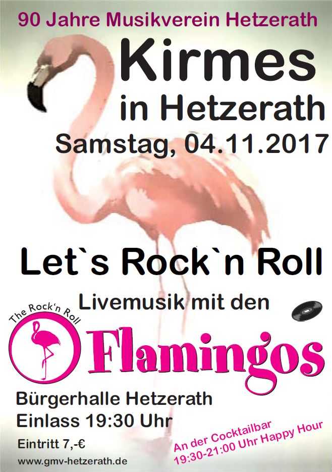 Rock'n Roll Flamingos - Kirmes 2017