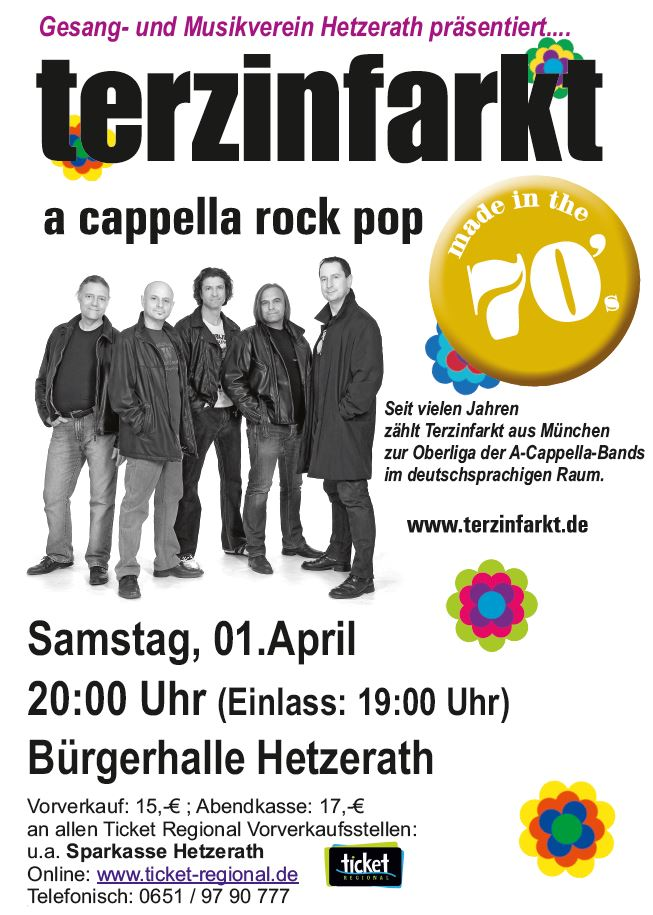 Terzinfarkt am 1. April in Hetzerath